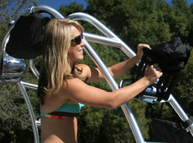 Beyond The Wake Girl Installing Wakeboard Rack Covers