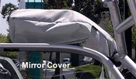 Beyond The Wake Wakeboard Boat Tower Mirror Cover