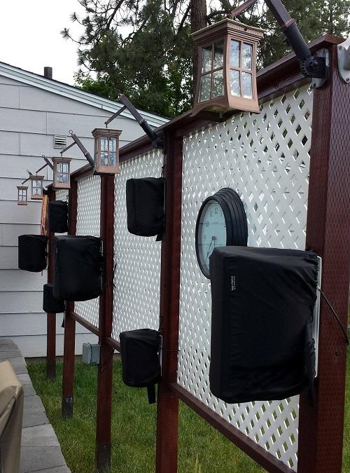 Custom Outdoor Speaker Covers Beyond The Wake